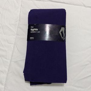 GAP Purple Tights NWT